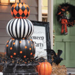 stucked pumpkins