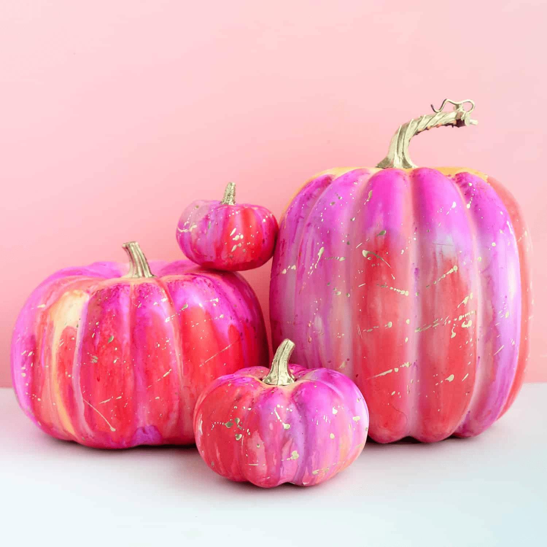 ink pumpkins