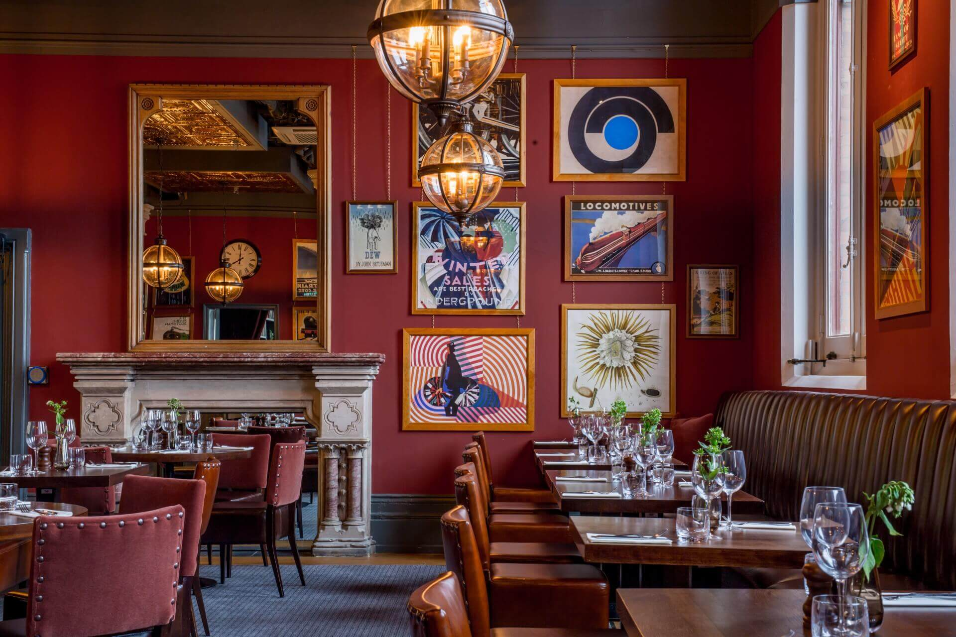 The Betjeman Arms Table Room