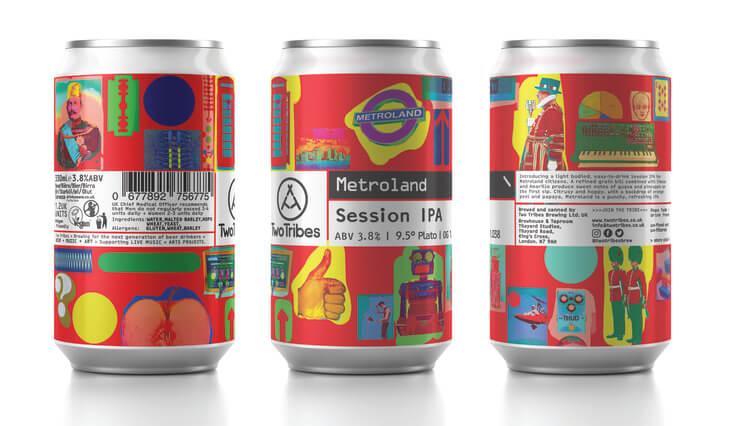 缶ビール metroland
