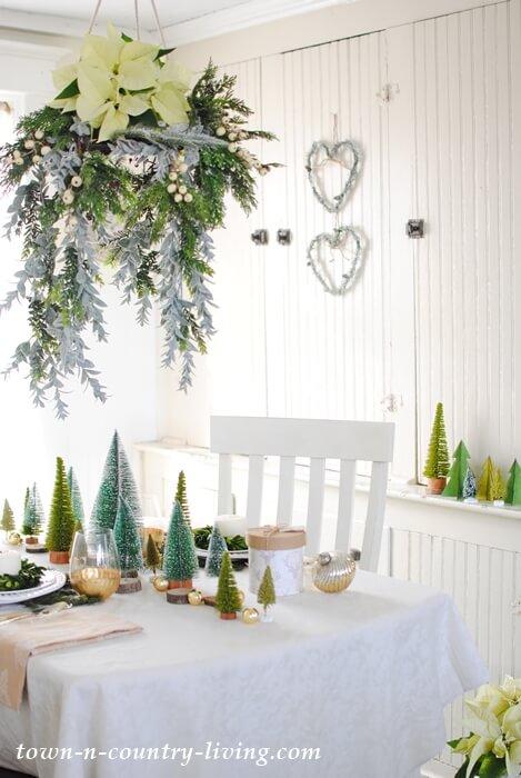 クリスマスツリー テーブルランナー