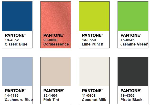 Pantone カラーパレット Snorkel