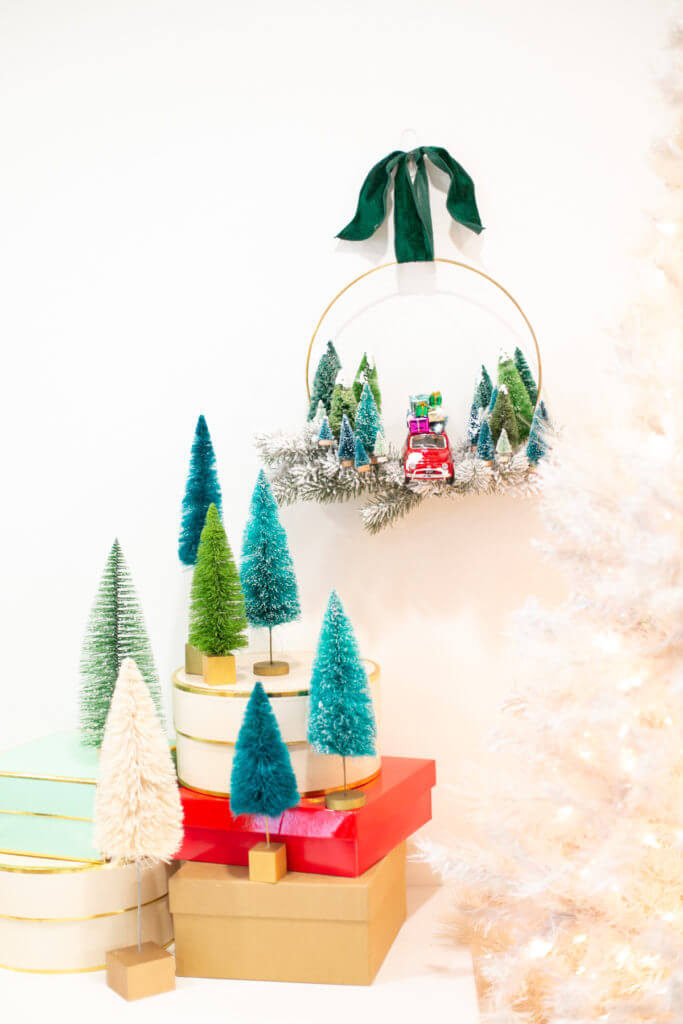 クリスマスツリー ミニカー