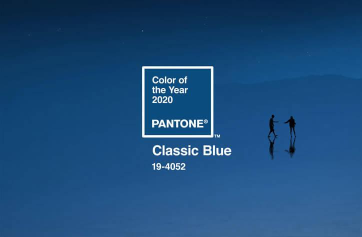 パントン トレンドカラー クラシック・ブルー 19-4502