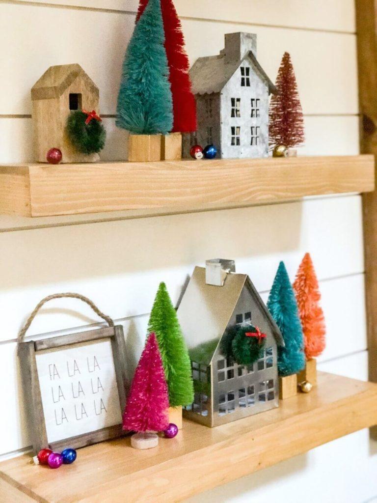 クリスマスツリー 棚