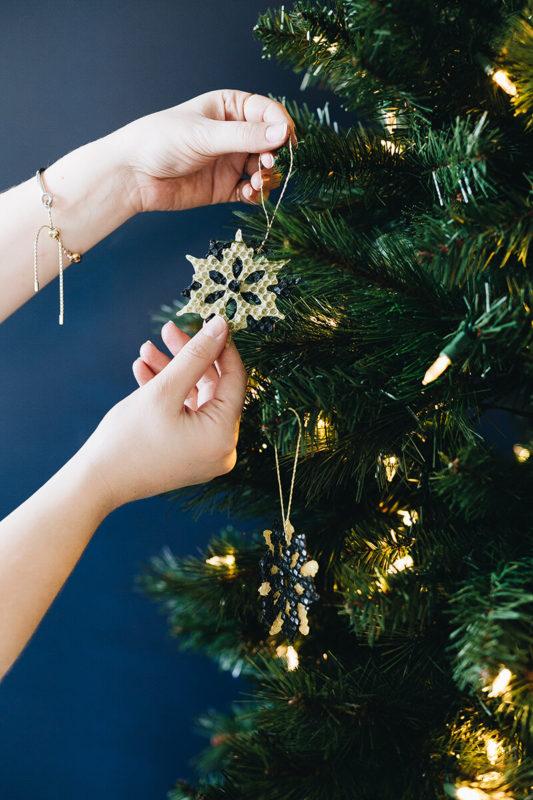 クリスマスツリーオーナメント ビーズワックスシート