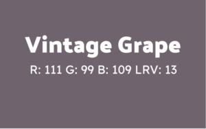 Behr Interior Paint in Vintage Grape